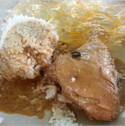 Nasi Belauk Ayam